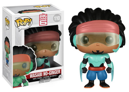 POP! Disney: Big Hero 6 - Wasabi No-Ginger Vinyl Figure #110