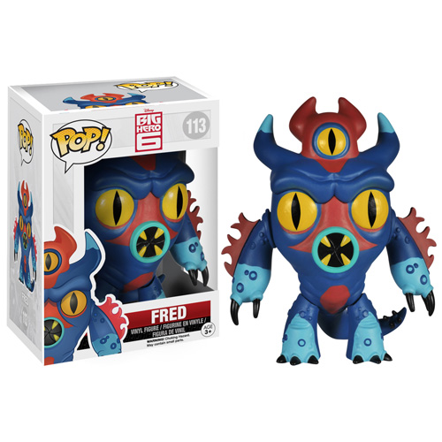 POP! Disney Big Hero 6 Fred  Vinyl Figure