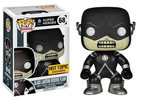 POP! Heroes DC: Reverse Flash (Black Lantern) Vinyl Figure #68 (Hot Topic Exclusive)
