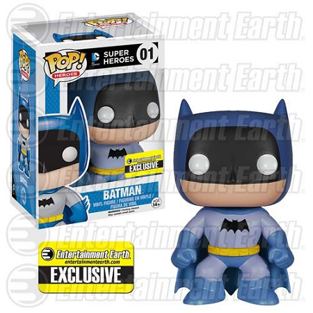 POP! Heroes DC: Batman 75th Anniversary - Blue Rainbow Vinyl Figure #1 (Entertainment Earth Exclusive)