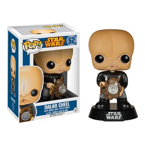POP! Star Wars Nalan Cheel Bobble Head Vinyl Figure
