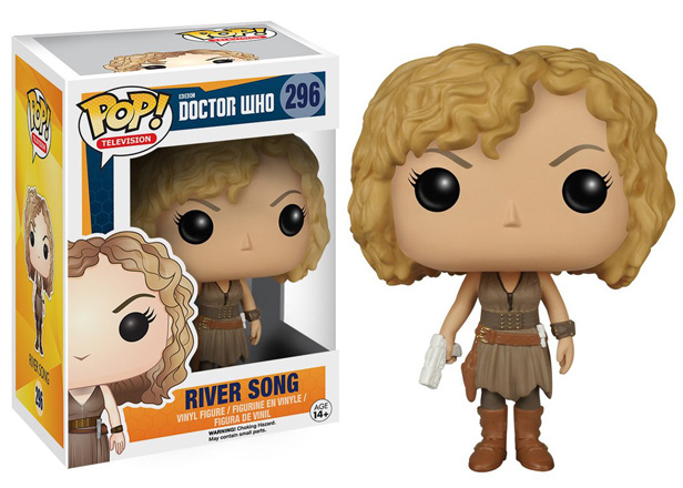 POP! Television: Doctor Who - River Song Vinyl Figure #296
