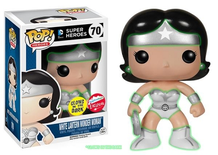 POP! Heroes DC: Wonder Woman [White Lantern] GID Vinyl Figure #70 (Fugitive Toys Exclusive)