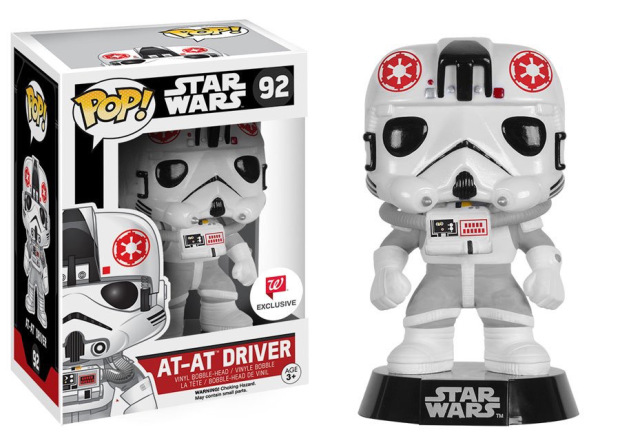 POP! Star Wars At-At Driver Vinyl Figure WALGREENS EXCLUSIVE