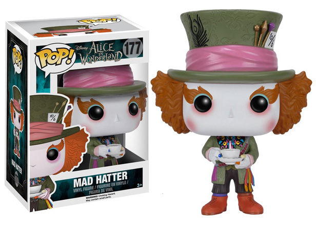 POP! Disney: Alice in Wonderland (Live Action) - Mad Hatter #177 Vinyl Figure