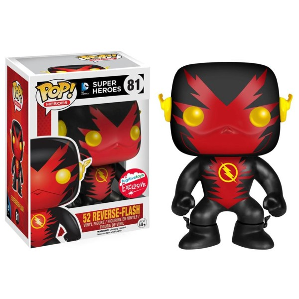 POP! Heroes DC: The New 52! - Reverse Flash Vinyl Figure (Fugitive Toys NYCC 2015 Exclusive)