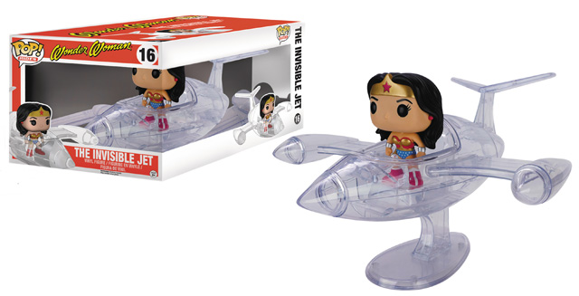 POP! Rides DC Comics Wonder Woman The Invisible Jet Vinyl Figure
