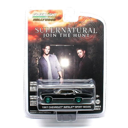 Supernatural 1967 Chevrolet Impala Sport Sedan Limited Edition Die Cast