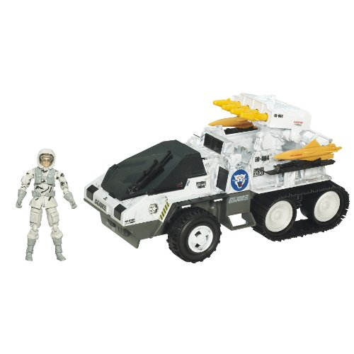 GI Joe Pursuit of Cobra Wolf Hound Action Figure with Vehicle