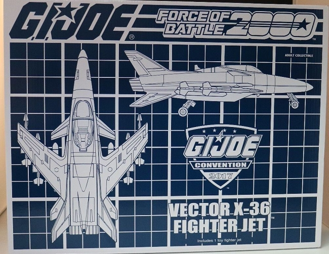 G.I. Joe: Battle Force 2000 Vector X-36 Jet (JoeCon Exclusive)