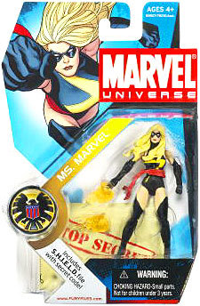Marvel Universe Series 1 Ms. Marvel #22