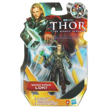 Marvel Movie Series: Thor: The Mighty Avenger - Secret Strike Loki Action Figure