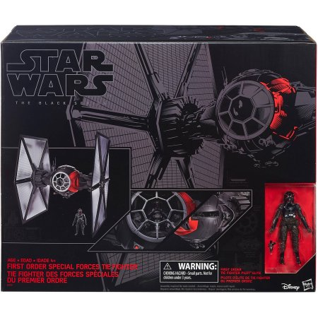 Star Wars: The Black Series - First Order Special Forces Tie Fighter