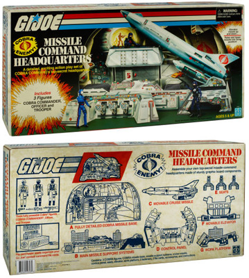 G.I. Joe Cobra Missile Command Headquarters (SDCC 2017 Exclusive)