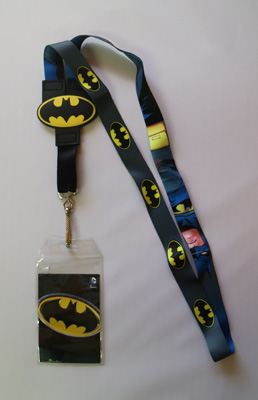 Batman Reversible Lanyard