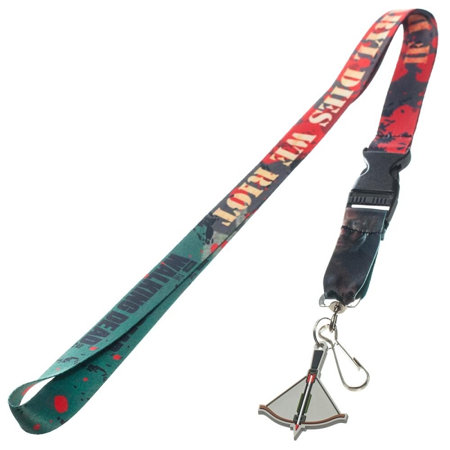 The Walking Dead If Daryl Dies we Riot Lanyard