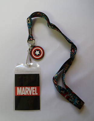 Marvel Captain America Lanyard