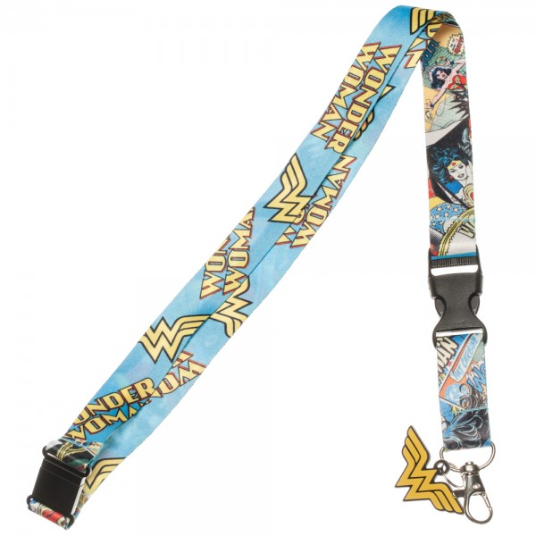 Wonder Woman Breakaway Lanyard