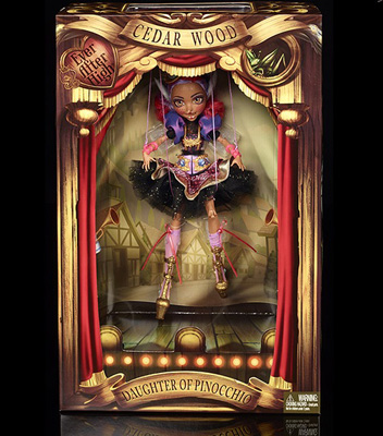 Ever After High Cedar Wood Marionette Doll SDCC Exclusive