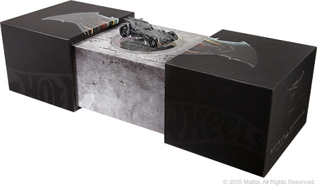 Mattel Hot Wheels: Batman v Superman: Dawn of Justice - Batmobile Die Cast (SDCC 2015 Exclusive)