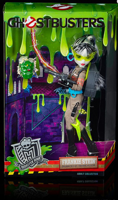 Monster High Ghostbusters Frankie Stein Doll SDCC Exclusive