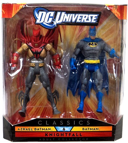 Mattel DC Universe Classics: Azrael Batman and Batman Figure 2-Pack