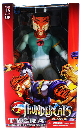 Thundercats Phasing Tygra Mega Scale Figure SDCC Exclusive