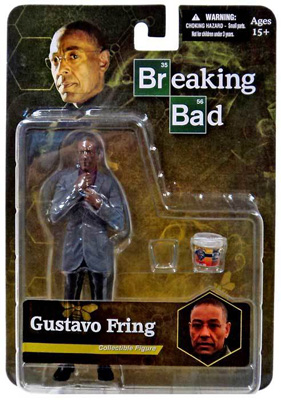 Mezco Breaking Bad Gustavo Fring Action Figure