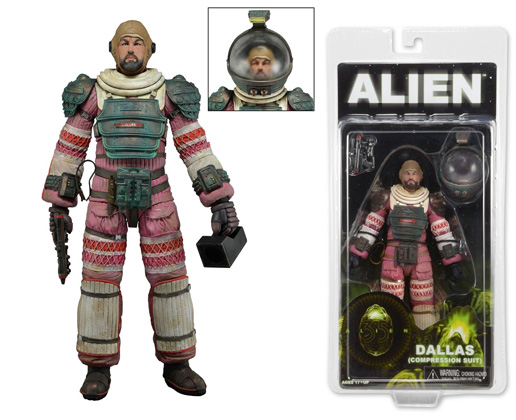 NECA Aliens: Series 4 - Dallas (Compression Suit) 7