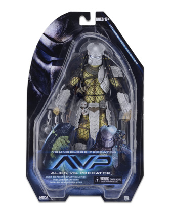 Neca Aliens vs Predator Series 17  Young Blood Predator 7