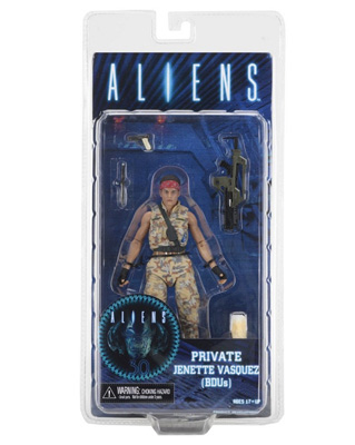 NECA Aliens: Private Jenette Vasquez (BDUs) 7