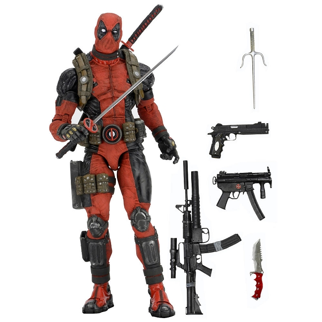 Neca Marvel 1/4 Scale Figure Deadpool