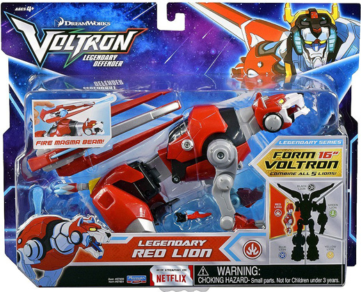 Playmates Voltron Legendary Defender: Legendary Red Lion Action Figure