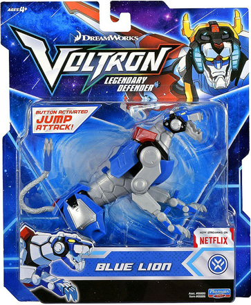 Playmates Voltron Legendary Defender: Legendary Blue Lion Action Figure