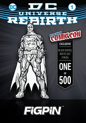 DC Comics Jim Lee's Rebirth: Batman Black & White FiGPiN #72 (NYCC 2017 Exclusive)