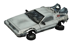 Back to The Future II Frozen Hover Time Machine Electronic Vehicle