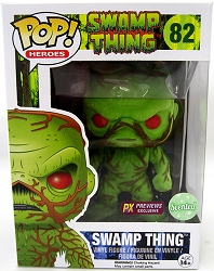 POP! Heroes Swamp Thing Scented Previews Exclusive SDCC Vinyl Figure