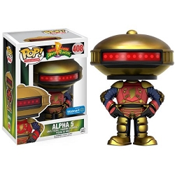 POP! Television: Power Rangers - Alpha 5 Vinyl Figure #408 (Walmart Exclusive)