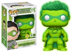 POP! Emeral City Crusader Limited Edition Exclusive Glow in the Dark Vinyl Figure