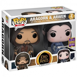 POP! Movies: Lord of the Rings - Aragorn & Arwen Vinyl Figure (SDCC EXCLUSIVE)*