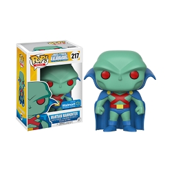 POP! Heroes DC: Justice League Unlimited - Martian Manhunter Vinyl Figure #217 (Walmart Exclusive)