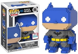 POP! 8-Bit: DC Super Heroes - Batman Vinyl Figure #1 (NYCC 2017 Exclusive)*