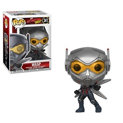 [PRE-SALE] POP! Heroes Marvel: Ant-Man and The Wasp - Wasp Vinyl Bobblehead Figure #341