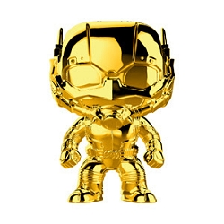 [PRE-SALE] POP! Heroes Marvel: Marvel Studios First 10 Years - Ant-Man (Gold Chrome) Vinyl Bobblehead Figure [Release Date TBA]