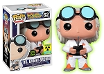 POP! Movies: Back to the Future - Dr. Emmet Brown GID Vinyl Figure #62 (Our Exclusive!)