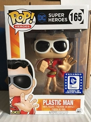 POP! Heroes Super Heroes Plastic Man DC Exclusive Vinyl Figure