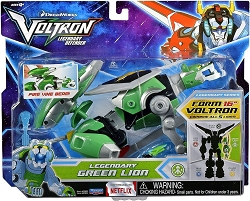 Playmates Voltron Legendary Defender: Legendary Green Lion Action Figure