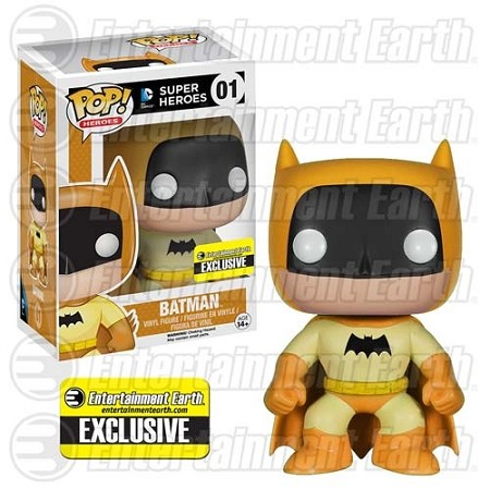 POP! Heroes DC: Batman 75th Anniversary - Yellow Rainbow Vinyl Figure #1 (Entertainment Earth Exclusive)