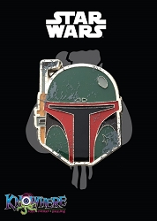 Star Wars Mandalorian Exclusive Pin - Boba Fett Battle Damage (Celebration 2019)