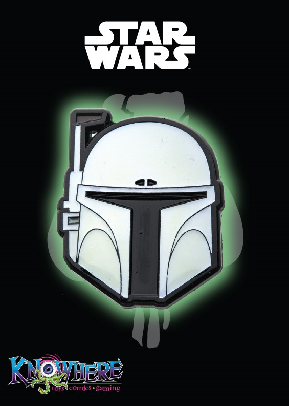 Star Wars Mandalorian Exclusive Pin - Boba Fett Prototype Glow-in-the-Dark (Celebration 2019)